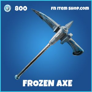 frozen axe rare fortnite pickaxe