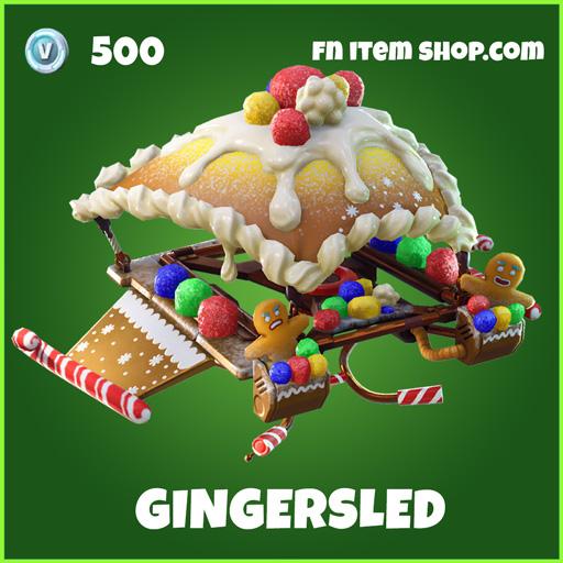 Gingersled uncommon fortnite glider