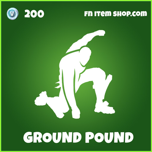 Ground Pound uncommon fortnite emote