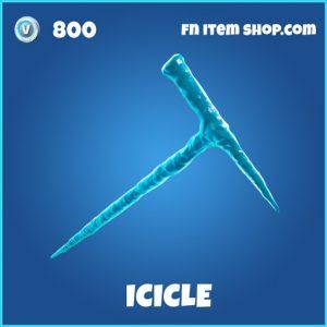 Icicle rare fortnite pickaxe