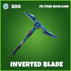 inverted blade uncommon fortnite pickaxe