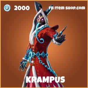 krampus legendary fortnite skin
