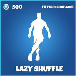 lazy shuffle rare fortnite emote