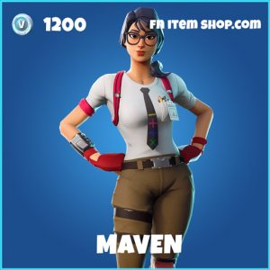 Maven rare fortnite skin