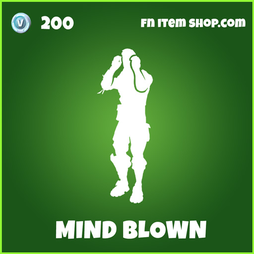 mind blown uncommon fortnite emote