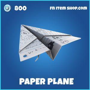 Paper plane rare fortnite glider