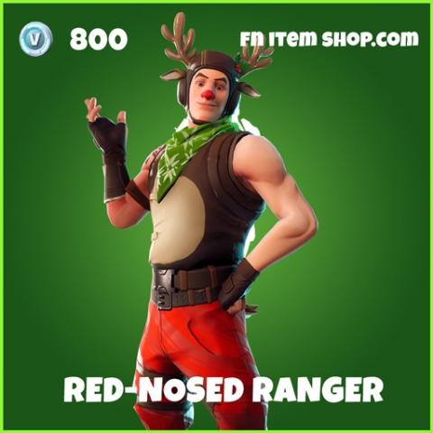 Red-Nosed Red Nosed Ranger uncommon fortnite skin