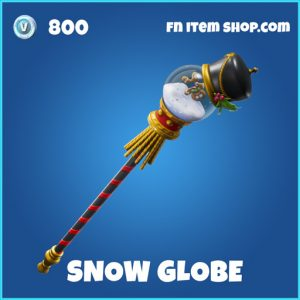 snow globe rare fortnite pickaxe