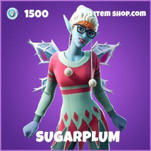 Sugarplum epic fortnite skin