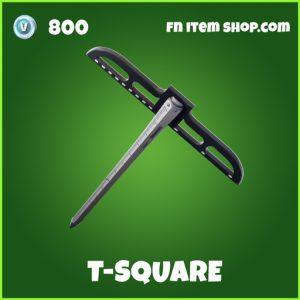 t-square t square uncommon fortnite pickaxe