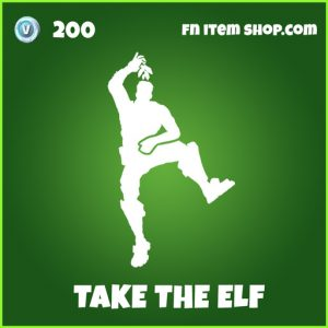 take the elf uncomon fortnite emote