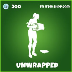 unwrapped uncommon fortnite emote