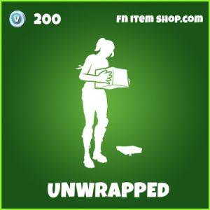 unwrapped uncommon fortnite emote