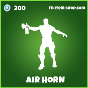 Airhorn uncommon fortnite emote