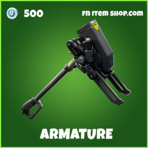 Armature uncommon fortnite pickaxe