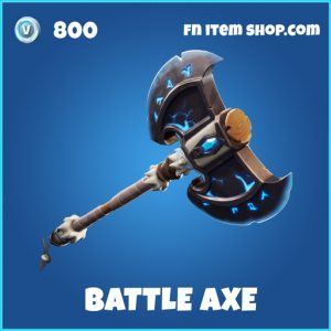 Battle Axe rare fortnite pickaxe