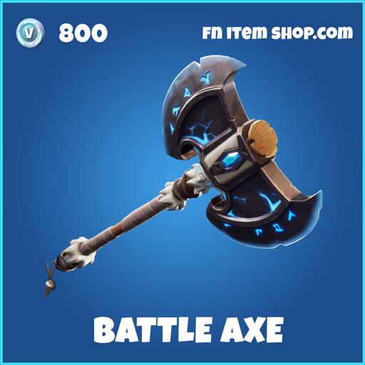 Battle Axe rare fortnite pickaxe