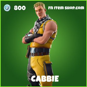 Cabbie uncommon fortnite skin
