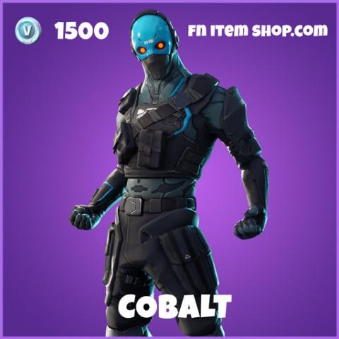 Cobalt epic fortnite skin