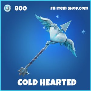 cold hearted rare fortnite pickaxe - shark pickaxe fortnite