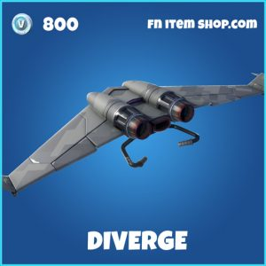 Diverge rare fortnite glider