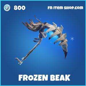 frozen beak rare fortnite pickaxe