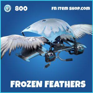 Frozen feathers rare glider