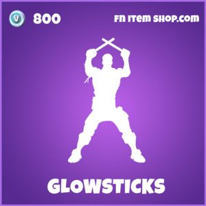 glowstick epic fortnite emote