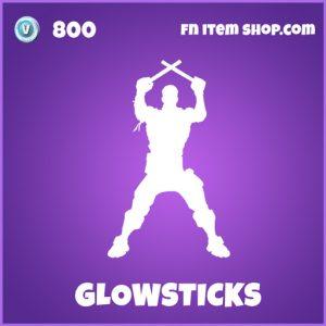 glowstick epic fortnite emote