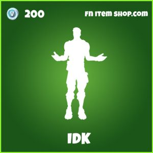 IDK uncommon fortnite emote