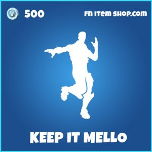 keep it mello rare fortnite emote