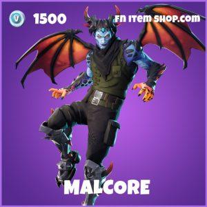Malcore epic fortnite skin