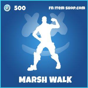 marsh walk rare fortnite emote