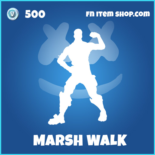 marsh walk rare fortnite emote