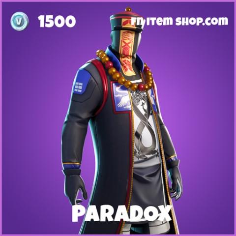 Paradox epic fortnite skin