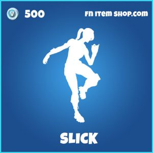 Slick rare fortnite emote