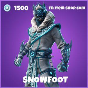 Snowfoot epic fortnite skin