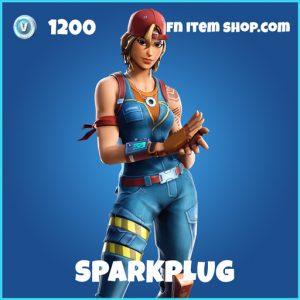 Sparkplug rare fortnite skin