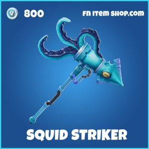 squid striker rare fortnite pickaxe