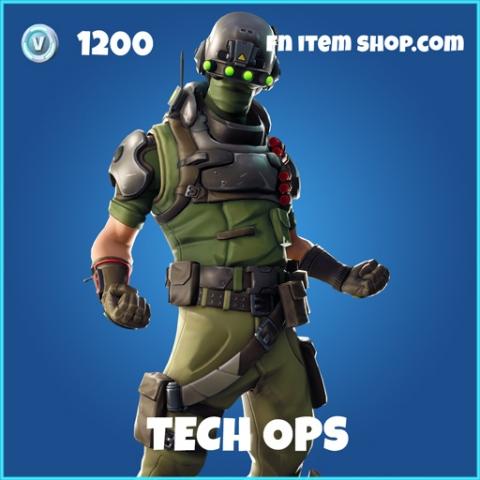 Tech ops rare fortnite skin