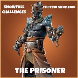 the prisoner legendary fortnite skin snowfall challenges