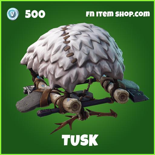 Tusk uncommon fortnite glider
