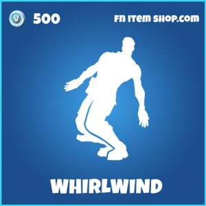 Whirldwind rare fortnite emote
