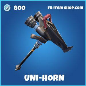 uni-horn rare fortnite pickaxe