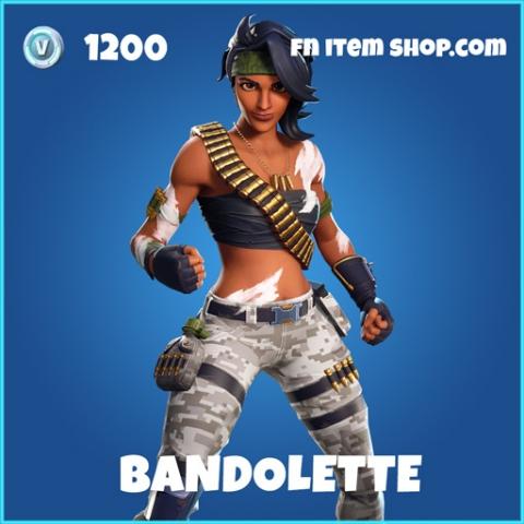 Bandolette rare fortnite skin