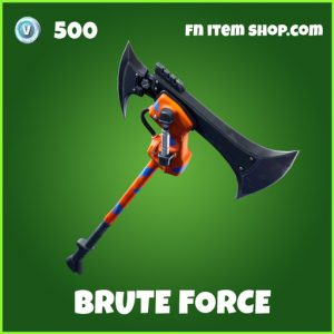 brute force fortnite pickaxe uncommon