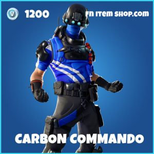 carbon commando rare fortnite skin