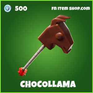 Chocollama uncommon fortnite pickaxe