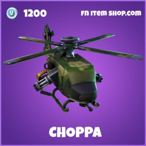 Choppa epic fortnite glider