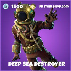 Deep Sea Destroyer epic fortnite skin